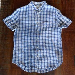 {Lucky Brand} California fit linen men's large EUC
